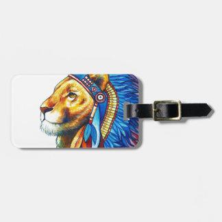 Etiqueta Para Maletas El jefe del león