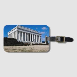 Etiqueta Para Maletas El Lincoln memorial en Washington DC
