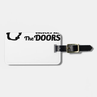Etiqueta Para Maletas El rezo es la llave a todas las puertas