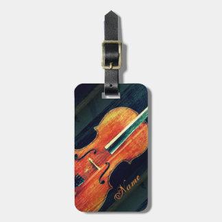 Etiqueta Para Maletas El violoncelo/los regalos personalizados para el