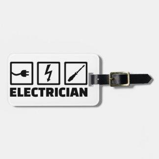 Etiqueta Para Maletas Electricista