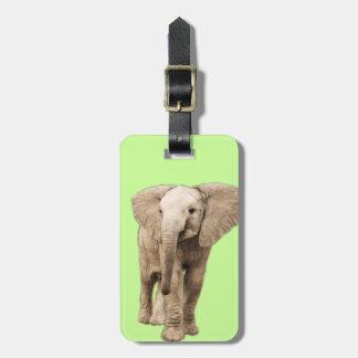 Etiqueta Para Maletas Elefante lindo del bebé