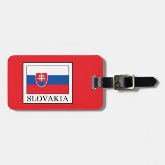 Etiqueta Para Maletas Eslovaquia