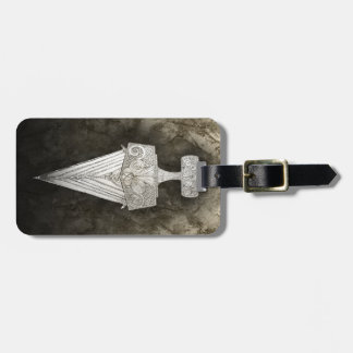 Etiqueta Para Maletas Espada de ace´s