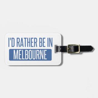 Etiqueta Para Maletas Estaría bastante en Melbourne