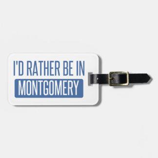 Etiqueta Para Maletas Estaría bastante en Montgomery