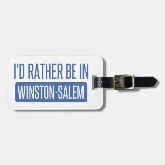 Etiqueta Para Maletas Estaría bastante en Winston-Salem