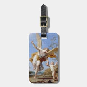 """Etiqueta Para Maletas """"Etiqueta de encargo del equipaje del ángel de The"""