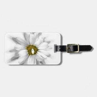 Etiqueta Para Maletas floración en sombras del blanco