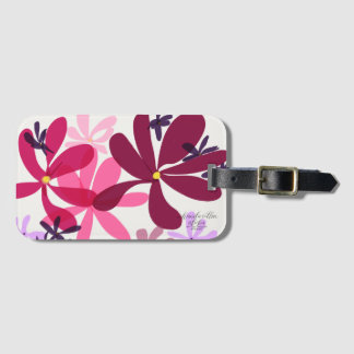 Etiqueta Para Maletas Flower power LuggageTags