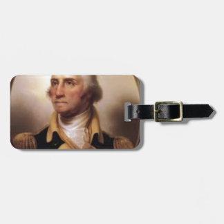 Etiqueta Para Maletas George Washington