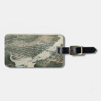 Etiqueta Para Maletas Green Bay Wisconsin 1867