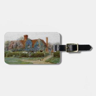 Etiqueta Para Maletas Hogar en Buckinghamshire c1900
