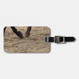 Etiqueta Para Maletas Horse hooves