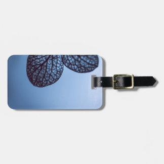 Etiqueta Para Maletas Hydrangea azul