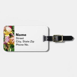 Etiqueta Para Maletas Iris por la valla de estacas