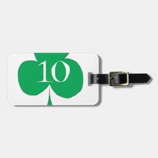 Etiqueta Para Maletas Irlandés afortunado 10 de los clubs, fernandes