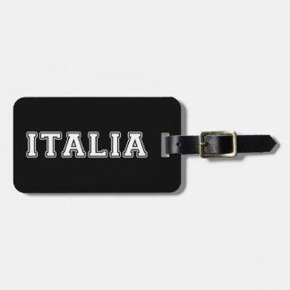 Etiqueta Para Maletas Italia