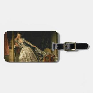 Etiqueta Para Maletas Jean-Honore Fragonard - el beso robado - bella