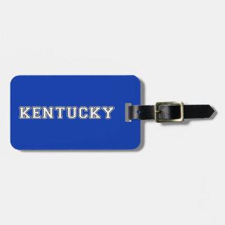 Etiqueta Para Maletas Kentucky