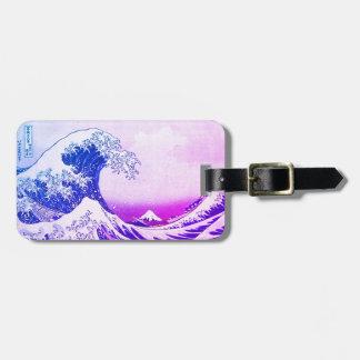 Etiqueta Para Maletas La gran onda de Kanagawa