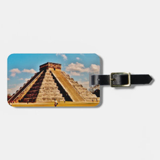 Etiqueta Para Maletas La pirámide de Kukulkan