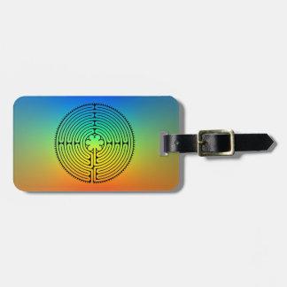 Etiqueta Para Maletas Laberinto del arco iris