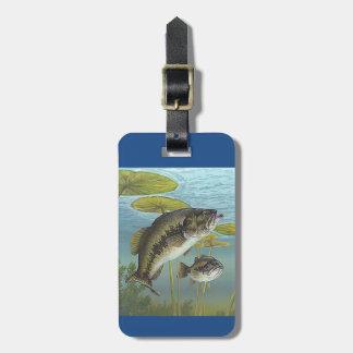 Etiqueta Para Maletas Largemouth Bass
