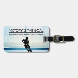 Etiqueta Para Maletas Lema SUPERIOR de la victoria del hockey