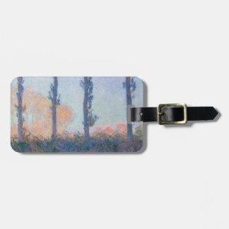 Etiqueta Para Maletas Los cuatro árboles de Claude Monet