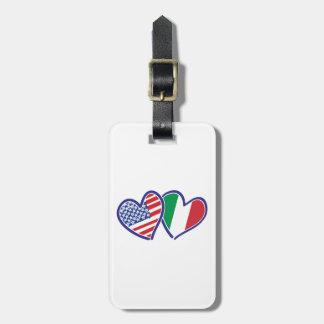 Etiqueta Para Maletas LOS E.E.U.U. ---Italia-Amor