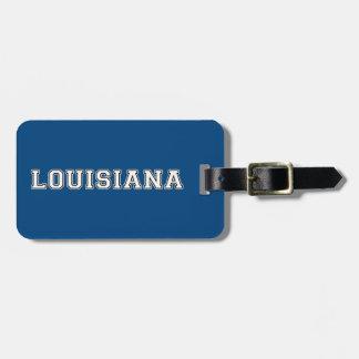 Etiqueta Para Maletas Luisiana