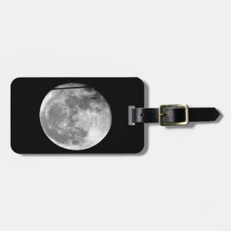 Etiqueta Para Maletas ¡Luna estupenda con el paso/personalizable del