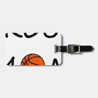 Etiqueta Para Maletas Mamá del baloncesto