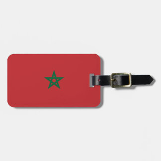 Etiqueta Para Maletas Marruecos