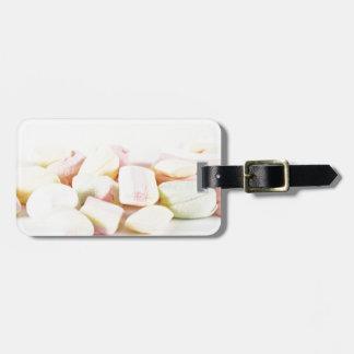 Etiqueta Para Maletas Melcochas de los caramelos