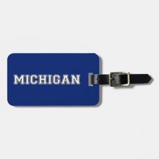Etiqueta Para Maletas Michigan