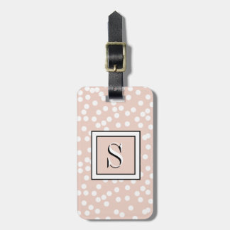 ETIQUETA PARA MALETAS MODA LUGGAGE/BAG TAG_DOTS EN DOGWOOD DE