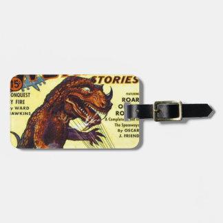 Etiqueta Para Maletas monstruo del lagarto gigante