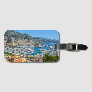 Etiqueta Para Maletas Monte Carlo Mónaco