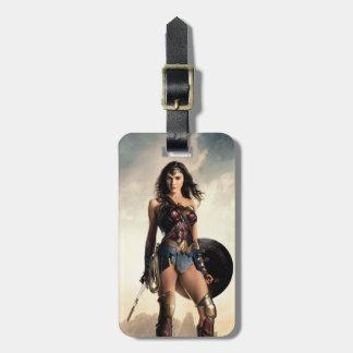 Etiqueta Para Maletas Mujer Maravilla de la liga de justicia el | en
