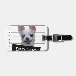 Etiqueta Para Maletas Mún perro - chihuahua