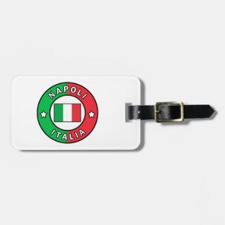 Etiqueta Para Maletas Napoli Italia