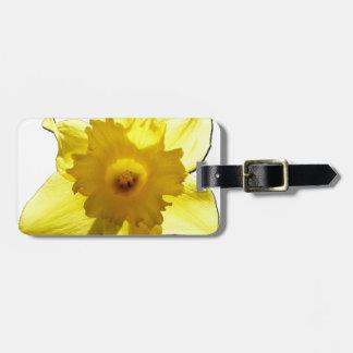 Etiqueta Para Maletas Narciso 1,0 de la trompeta amarilla