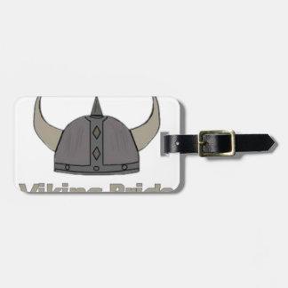 Etiqueta Para Maletas Orgullo de Viking