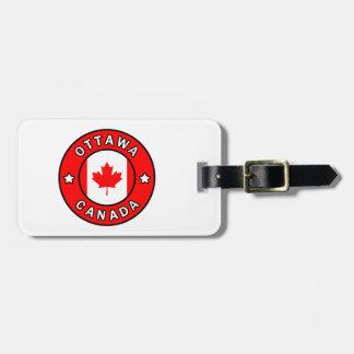 Etiqueta Para Maletas Ottawa Canadá