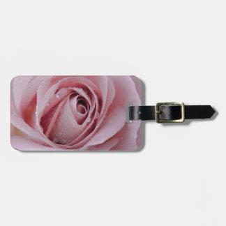 Etiqueta Para Maletas palidezca - color de rosa rosado