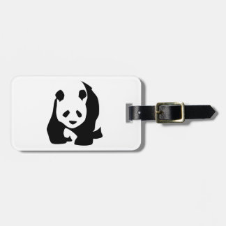 Etiqueta Para Maletas Panda
