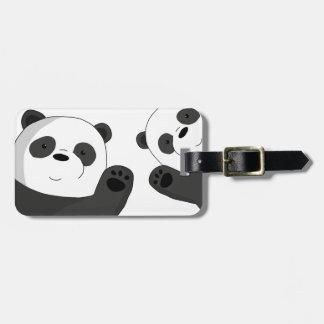 Etiqueta Para Maletas Pandas lindas