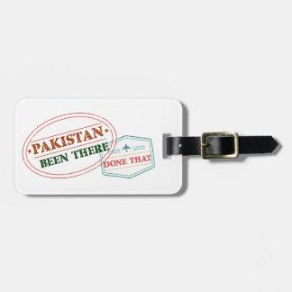 Etiqueta Para Maletas Paquistán allí hecho eso
